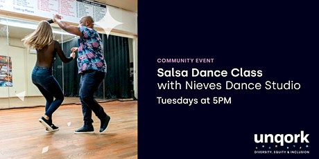 Latin Dance Lessons with Unqork tickets