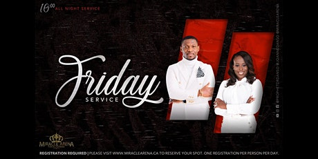 Miracle Arena Friday All-Night  Service tickets