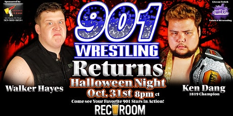 901 Wrestling Returns! billets