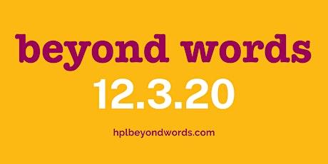 Beyond Words 2020 tickets