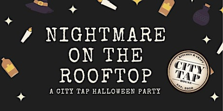 City Tap Rooftop Halloween Party tickets