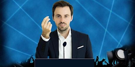 """""""In Videokonferenz überzeugen mit Digitaler Rhetorik"""" mit Wlad Jachtchenko Tickets"""