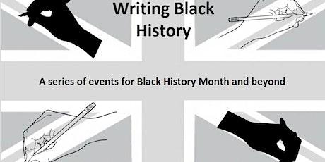 Writing Black History tickets