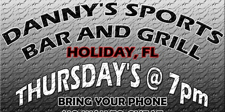 Survey Says (Family Feud Style Game) @ Danny's Bar & Grill in Holiday tickets