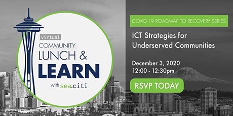 sea.citi Roadmap to Recovery:  Washington's ICT Strategies tickets