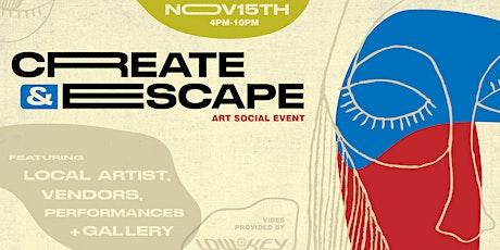 Create & Escape tickets