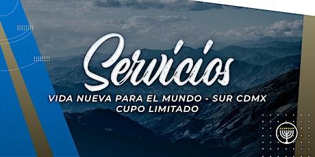 VNPEM Sur CDMX 2 Servicios Domingo 25 de Octubre entradas