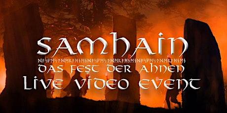 Samhain - Fest der Ahnen 2020 - Live Video Event tickets