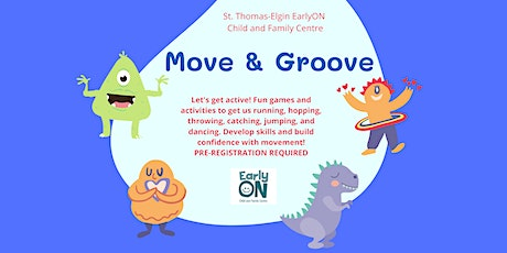 EarlyON Move & Groove (November 25 - Miller Park, West Lorne) tickets