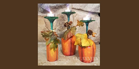 Glass Pumpkin Trio Centerpiece at The Wigwam, Oct 29 tickets