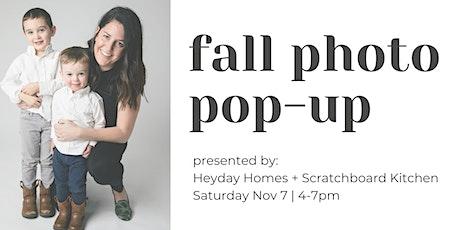 Scratchboard Kitchen + Heyday Homes November Photo Pop-Up tickets