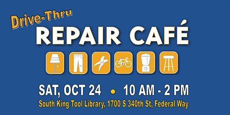 Free SAFE Repair Café tickets