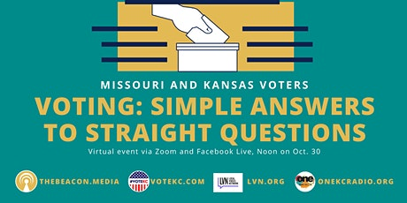 Voting: Simple Answers to Straight Questions tickets