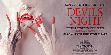 The Church presents Devils Night tickets