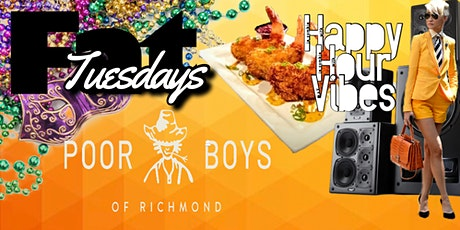 Fat Tuesdays  at Poor Boys | Happy Hour Specials with Live Music tickets