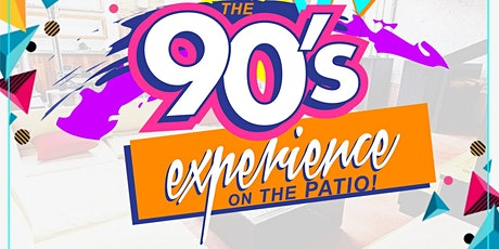 Sangria Saturdays: 90's On The Patio @5pm tickets