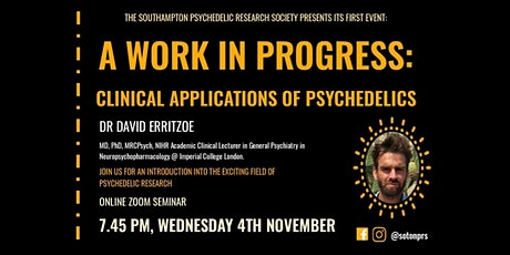 A work in progress: Clinical applications of psychedelics tickets