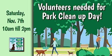 Ellicott Island Bark Park Fall Cleanup 2020 tickets