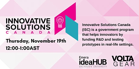 Innovative Solutions Canada |  Lunch & Learn tickets