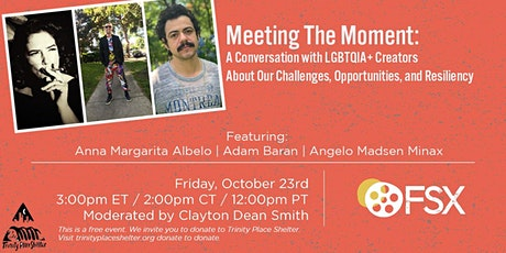 Meeting The Moment:  A Conversation with LGBTQIA+ Creators tickets