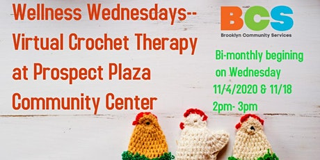 Wellness Wednesday's/ Crochet Therapy tickets