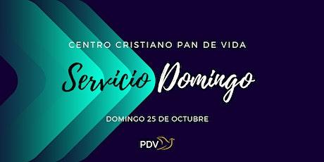 Domingo 25 de Octubre tickets