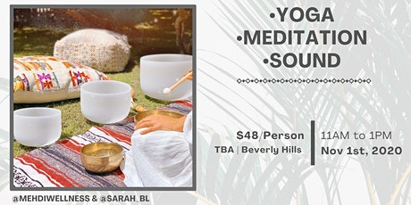 Sunday Yoga Flow + Sound Bath tickets