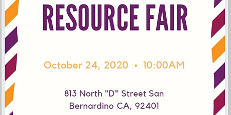 Resource Fair tickets