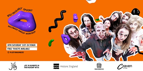 Joy in Numbers Presents: Spectacularly Spooky Make-up Workshop tickets