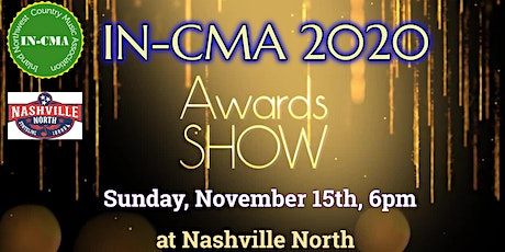 2020 IN-CMA Awards show and dinner tickets