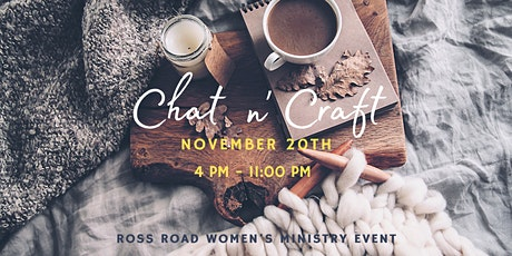 Ross Road Women's Ministry Chat n' Craft tickets