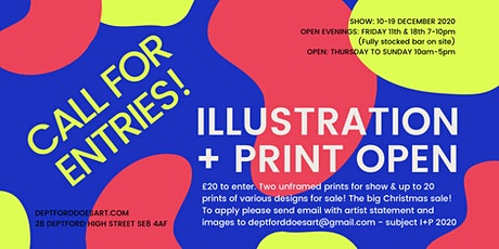 ILLUSTRATION + PRINT OPEN 2020 | CALL FOR ARTISTS tickets