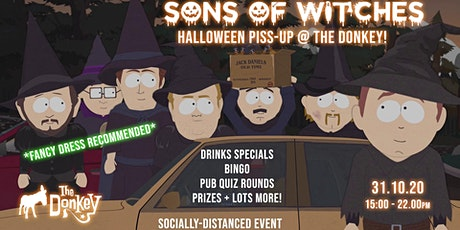 Sons of Witches - Halloween special @ The Donkey tickets