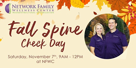 Fall FREE Spine Check Day tickets