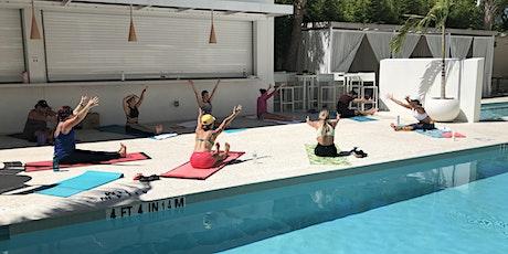 Friday Poolside Yoga at the Sarasota Modern Hotel tickets