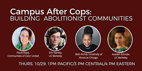 Campus After Cops: Building Abolitionist Communities tickets