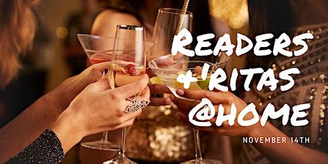 Readers & 'ritas @HOME tickets