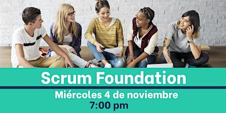 Scrum Foundation boletos