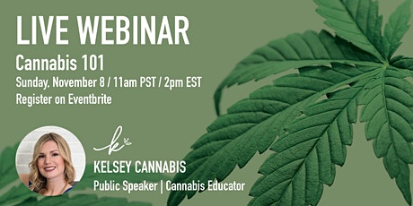 Cannabis 101 Live Webinar tickets
