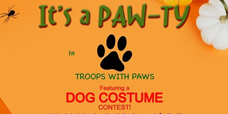 PAW-TY for Troops with Paws! tickets