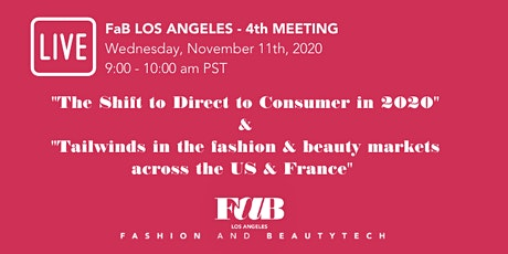 FaB  Los Angeles - The shift to Direct-to-Consumer in 2020 tickets
