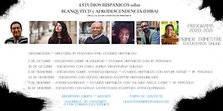 Círculo de ESTUDIOS HISPÁNICOS sobre BLANQUITUD y AFRODESCENDENCIA (EHBA) entradas