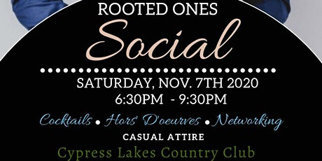 Rooted Ones Social tickets