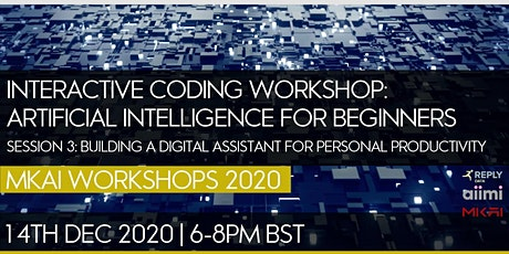 Interactive Coding Workshop: AI For Beginners tickets