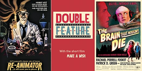 Free Beer + Re-Animator & The Brain That Wouldn't Die Double Feature tickets