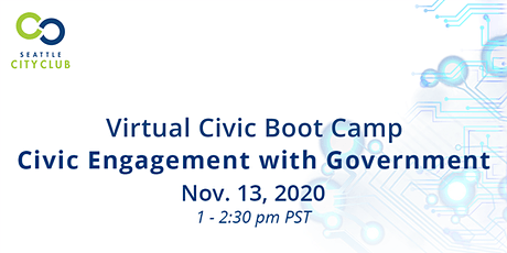 Civic Boot Camp: Civic Engagement with Government tickets