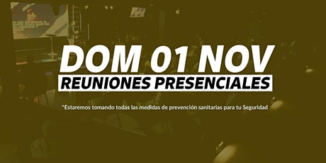 Reunión 11AM - Domingo 01/NOV