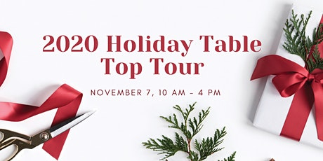 2020 Holiday Table Top Tour tickets