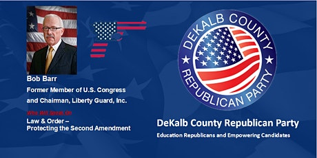 DeKalb GOP Breakfast with Bob Barr tickets