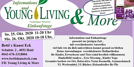 Informations und Verkaufstage  Young Living & More Tickets